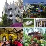 A selection of strange hotels
