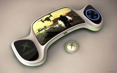 Xbox  on Next Generation Xbox 720   Ps4    Portable Xbox Concept 1