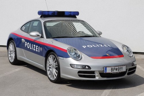 A £65,000 supercar that can do up to 177mph for the Austrian Police