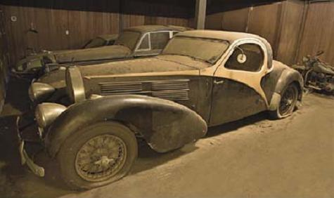 By Now Im Almost Sure Everyone Here Is Aware Of This Car The 38 Bugatti Atalante Found Inside A Barn Tucked There For Decades Then Going Out And